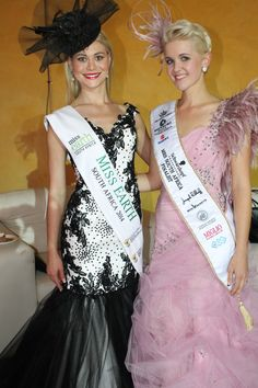 Miss Earth 2014 Ilzé Saunders and Mrs South Africa 2015 Finalist 2015 Anneke Nortje.