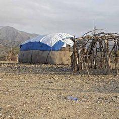 Maison Typiquement Traditionnelle de la région Afar