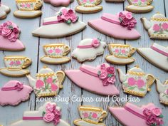 Tea Party | Cookie Connection Love Bug Cakes and Cookies