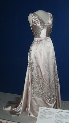 The unused silver wedding dress of Crown Princess Märtha of Norway is one of the most poignant exhibits at the National Museum's department of decorative arts. Click on the photo and read the story - such love and such sadness.