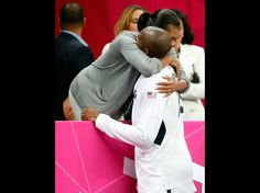 Michelle and Kobe