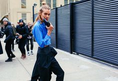 FASHION WOLRD Neews 20.2.2016.....The 19 Best Street Style Beauty Looks From New York Fashion Week Fall 2016