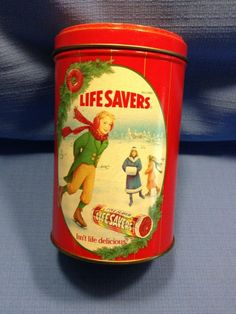 Vintage Life Savers Collectors Tin #PlantersLifesaversCo