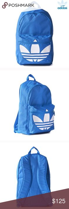 0b07cd9fb7e1 Adidas Originals Trefoil Backpack Blue In excellent condition. Used only a  handful of times.