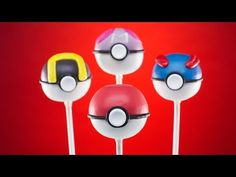 Video: How To Make Pokemon Pokeball Cake Pops | Cooking Panda Simple Recipes