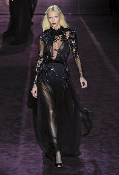 Black and sheer could never be wrong.