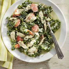 Green Goddess Chicken Salad - Summer Salad Recipes - Coastal Living