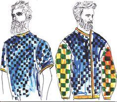 ARTS THREAD Profile - ARTS THREAD Fashion Portfolio Layout, Portfolio Ideas, Technical Illustration, Profile, Notebook, Illustrations, Design, Art, User Profile