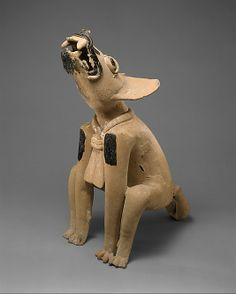 Howling Canine, 5th–6th century. Mexico, Mesoamerica, Veracruz. The Metropolitan Museum of Art, New York. The Michael C. Rockefeller Memorial Collection, Purchase, Nelson A. Rockefeller Gift, 1961 (1978.412.59)