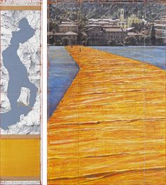 The Floating Piers, Lago Iseo, Italia - Christo and Jeanne-Claude