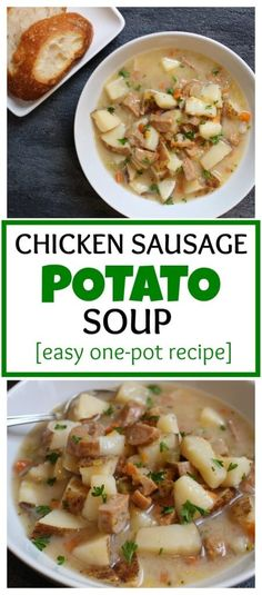 Chicken Sausage Potato Soup