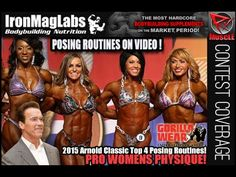 Top 4 Arnold Classic Womens Physique Posing Routines!