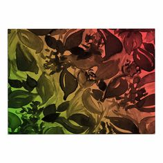 KESS InHouse BarmalisiRTB Black Panda Green Wall Tapestry 68 x 80