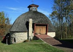 Lloyd's Blog: Round Barns in Iowa Built With Local Stone, Recycled Lumber