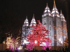 Salt Lake City LDS Temple, Christmas