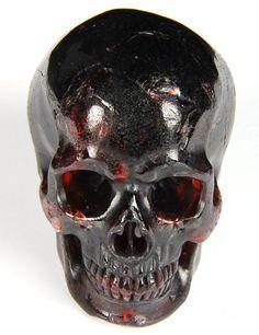 Tupac Art, Raven Feather, Scary Art, Sugar Skull Art, Skull Design, Crystal Skull, Rocks And Gems, Skull And Bones, Gems And Minerals