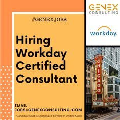 Hello,  We are hiring Workday Certified Consultants for multiple remote job openings with our clients based across USA.  *Candidate must be authorized to work in United States without sponsorship.  Email us your resume on - jobs@genexconsulting.com  #Workday #HCM #USA #Genex #GenexJobs #chicago #remote #remotejob #hiring #candidate #work We Are Hiring, Job Opening, Resume, Chicago, United States, Usa, Cv Design, U.s. States