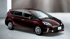 Toyota Releasing Special Edition Prius v In Japan
