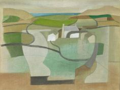 Ben Nicholson, Cornish Landscape