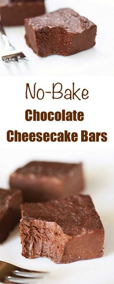 These no bake chocol