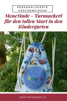 Drawstring Backpack, Kindergarten, Backpacks, Bags, Baby & Toddler, Toddlers, School, Gifts, Kinder Garden