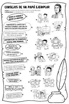 San Martin Argentina, Sistema Solar, Kindergarten, Education, History, School, Mayo, Google, Children's Magazines