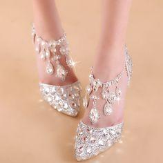Wedding Pumps, Bling Wedding, Gatsby Wedding, Women's Pumps, Pump Shoes, Flat Shoes, Women's Shoes, Prince Shoes, Bridal Heels