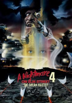 Magnet: Nightmare on Elm Street 4 - The Dream Master Movie Poster