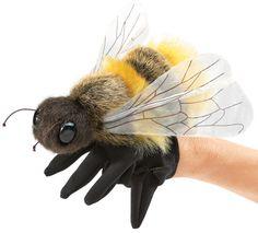 Folkmanis Handpuppe BIENE #folkmanis #handpuppe #handspielpuppe #puppet #honeybee