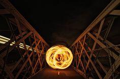 Light Painting - Light Art - Photography - Alex Kess - Sydney - 2013 - #lightpainting #lightart #art #photography Light Art, Light Bulb, Kevin Lynch, Tiger Beer, Light Painting, Art Photography, Lab, Bridge, 13 Days