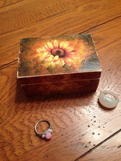 Ring or Trinket Box   rings are not included  by Barysto on Etsy