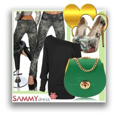 """""""Sammydress 40"""" by danijela-3 ❤ liked on Polyvore featuring women's clothing, women, female, woman, misses, juniors, MustHave, sammydress and winteredition"""