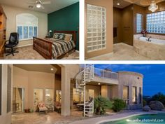 Outstanding 6 Bedroom North Scottsdale Home for Sale with Circular Stair Rooftop Viewing Deck Scottsdale Homes For Sale, Great North, Paradise Valley, Home List, Rooftop, Home And Family, New Homes, Deck, Stairs