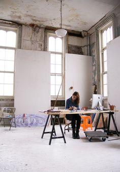nicole dufour durocher for curio magazine :: ana kras NYC studio