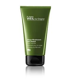 Dr. Andrew Weil for Origins:  I have been using 3 of his products for a few weeks now.  Big difference with redness and blemishes!  Expensive, but I have kept them longer than other products at this point.  Usually, I return things within 2 weeks, bc they make my skin worse!