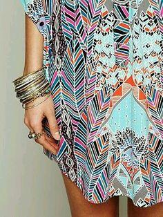 #color #étnico #accesorios