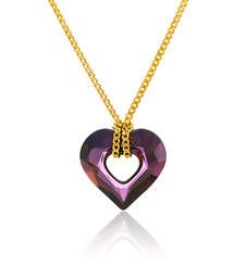 Buy Gold Swarovski Elements pendants Pendant online