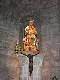 Monasterio de Leyre, virgen de Leyre - Abbaye de Leyre — Wikipédia