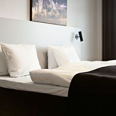 the mib wall light or reading light can also be used as an interior spot bedside lighting wall mounted