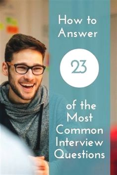 Career infographic & Advice How to Answer 23 of the Most Common Interview Questions Most Common Interview Questions, Interview Skills, Job Interview Tips, Interview Preparation, Best Interview Answers, How To Interview, Business Interview Questions, Preparing For An Interview, Job Interview Hairstyles