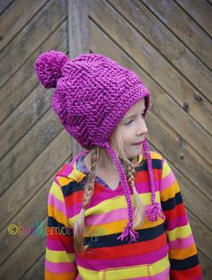 Ravelry: Thunderstruck Slouch with Braids pattern by Crochet by Jennifer