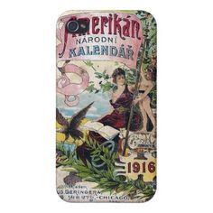 1916 Amerikan Kalendar - iPhone Case iPhone 4/4S Case