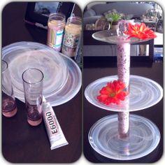 My DIY #3 ~ Cake stand / Jewelry stand.