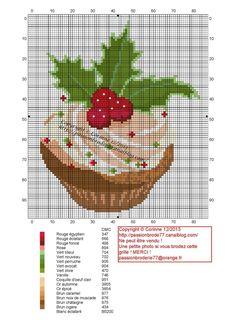 cuisine - kitchen - gâteau - point de croix-cross stitch - broderie-embroidery- Blog : http://broderiemimie44.canalblog.com/