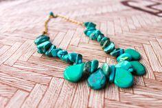 OSISI   Turquoise Necklace by Dabanga