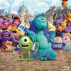 Monsters University Blu-ray 3D, Blu-ray and DVD Arrive October 29th -- Fans can purchase this Disney Pixar animated sequel on Digital HD and Digital HD 3D three weeks earlier starting on October 8th. -- http://wtch.it/OIpw2