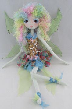 The Original Kaerie Faerie soft Sculpture Fairy by Kaeriefaerie52
