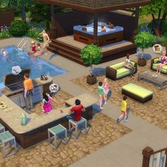 The Sims 4 #PerfectPatio is out tomorrow! Watch the trailer as soon as it's available here: http://bit.ly/1cEi5xB