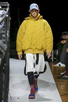 Henrik Vibskov Fashion Show Menswear Collection Fall Winter 2018 in Paris