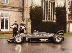 Senna & DeAngelis- Lotus Renault